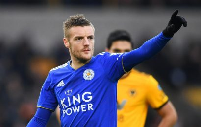 Jamie Vardy's odds HALVED to just 3/1 for Chelsea transfer this month