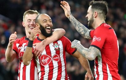 Southampton 2 Everton 1: Saints endure tense eight minutes of extra time as they move away from relegation zone
