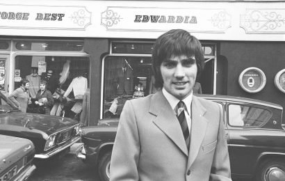 George Best was the king of football and fashion in the 1960s, opening his own boutique, Edwardia