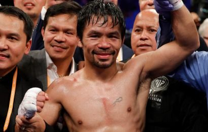 Manny Pacquiao dominates Adrien Broner in Las Vegas then calls out Floyd Mayweather for huge rematch