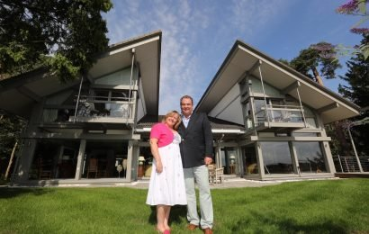 Millionaire who pocketed £500k in £3m home raffle after changing the prize to just £100k says his fee was 'just over minimum wage'