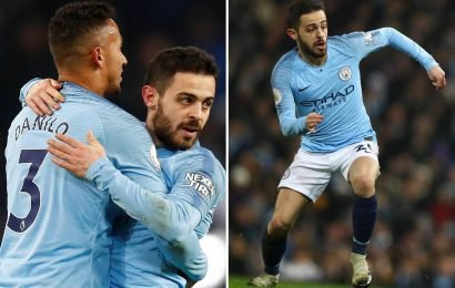 Bernardo Silva ran further than any other Prem player this season in Liverpool win… beating his own record