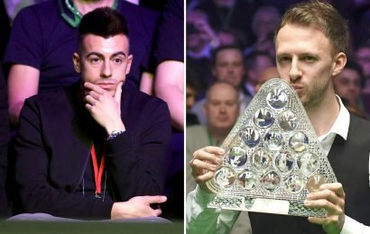 Roma star Stephan El Sharaawy in crowd to see Judd Trump thrash Ronnie O'Sullivan in Masters final