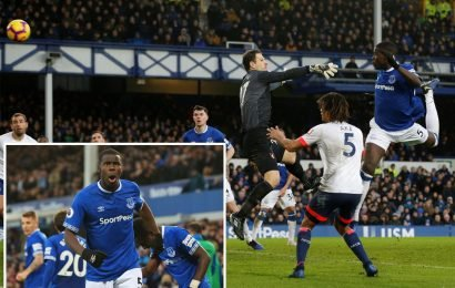 Everton 1 Bournemouth 0: Kurt Zouma's first goal for the Toffees eases the pressure on boss Marco Silva