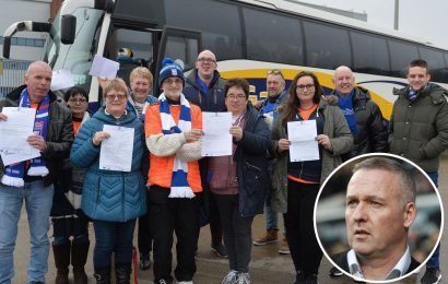 Ipswich boss Paul Lambert pays for fans' travel to Blackburn out of his own pocket
