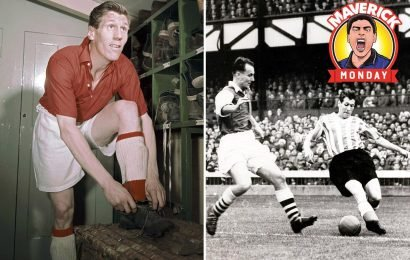 Len Shackleton was world's most expensive star and played one-twos with corner flags but never became an England hero