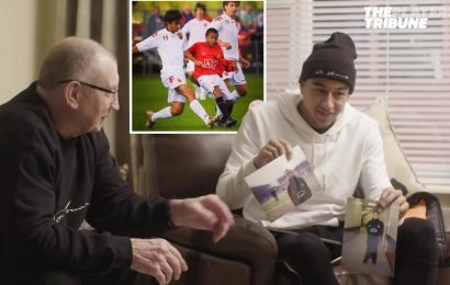 Lingard reveals grandad was banned by Man Utd for rant at youth team after blasting 'you've let your families down' during cold night at Stoke