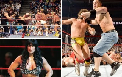 From John Cena's dramatic return to Chyna's shock entry: Royal Rumble's rated ahead of this weekend's WWE showdown