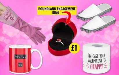 From one-pound rings to humorous toilet paper, we track down the worst Valentine's Day gifts on the high street