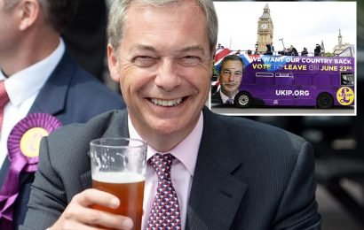 Nigel Farage makes comeback to push Brexit with fresh political party in blow for Tory and Labour ditherers