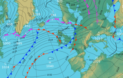 Saturday's UK weather forecast — cloudy and mild with some rain coming in from the south