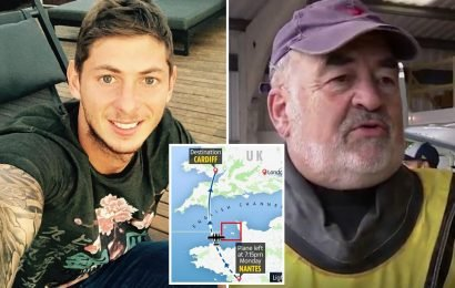 Emiliano Sala search pilot says 'absolutely no chance of finding anybody alive' in hunt for Cardiff City striker's missing plane