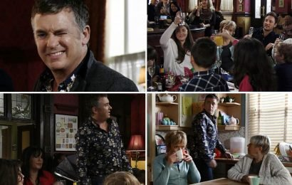 EastEnders viewers baffled as Alfie Moon is friends with Kat Slater again just days after kidnapping baby