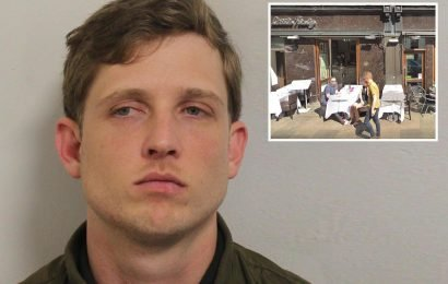 Man's jaw broken at Valentine's meal after being accused of 'groping attacker's girlfriend and sister'