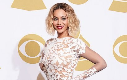 Beyonce Reveals $10K Wedding Gown 7 Mos. After Vow Renewal: See Pic Of Her Cozying Up To Jay-Z