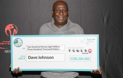 Man so happy about winning $298M jackpot he 'can't even eat'