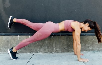 This Plank Torches Your Abs and Quads