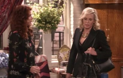Chelsea Handler guest stars on Will & Grace as high-powered lesbian Donna