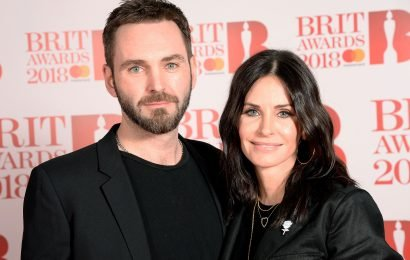 Courteney Cox says calling Johnny McDaid her 'partner' is 'difficult'