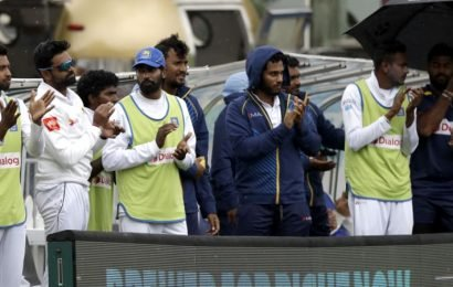 Beleaguered Sri Lanka arrive in Australia