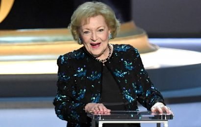 Betty White Turns 97 — and Celebrates with Cake and Poker!