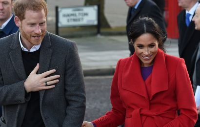 Meghan and Harry Just Showed Up to Their First Event of 2019 and The Pics Are SO CUTE