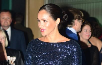 Meghan Markle In Head-to-Toe Sequins Is the New Year's Eve Inspo You Wish You'd Had