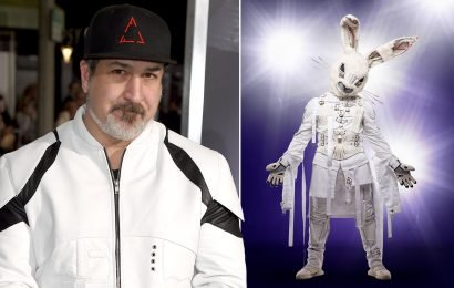 Joey Fatone says he's not the Rabbit on 'The Masked Singer'