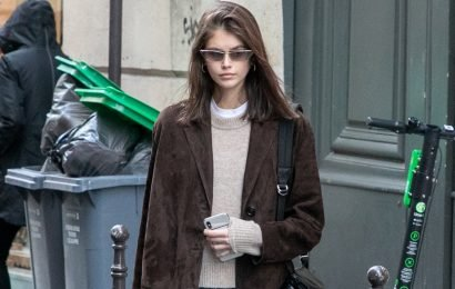 Strut Like Kaia Gerber In These Classic Sneakers