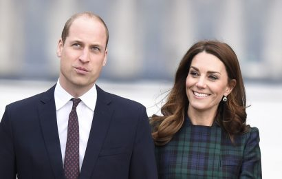 Kate Middleton Stuns in a McQueen Tartan Coat Dress to Visit Dundee