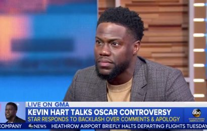 Kevin Hart Insists After Back and Forth 'I'm Not Hosting the Oscars This Year'