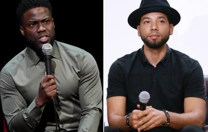 Kevin Hart urges Jussie Smollett to 'stand strong' after attack