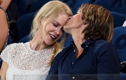 Nicole Kidman and Keith Urban Cuddle Up at the Australian Open