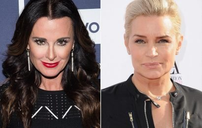 Housewives Kyle Richards and Yolanda Hadid Share Rival Revealing Photos to Celebrate Being in Their 50s