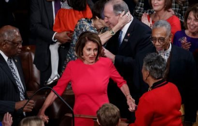 Nancy Pelosi Re-Elected Speaker as Democrats Take Control of House