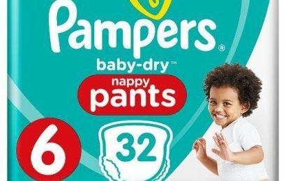 Tesco has a half-price deal on nappies and bargain hunters can't get enough