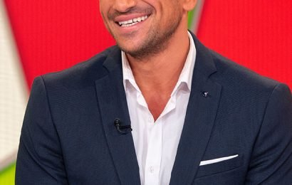 Peter Andre fans distracted by THIS in adorable throwback snap