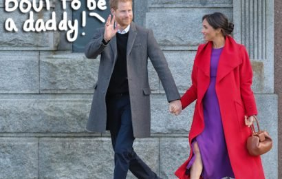 Prince Harry Talks About Impending Fatherhood In Speech At London Roundtable