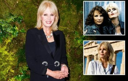 How old is Joanna Lumley, when did the Absolutely Fabulous star play Patsy and who is her husband Stephen Barlow?