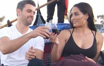 Nikki Bella Says It's Embarrassing Watching Her Dates With Artem Chigvintsev and Peter From The Bachelorette on Total Bellas