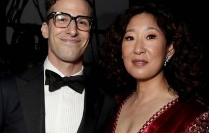 Sandra Oh and Andy Samberg Are Perfect Golden Globes Hosts