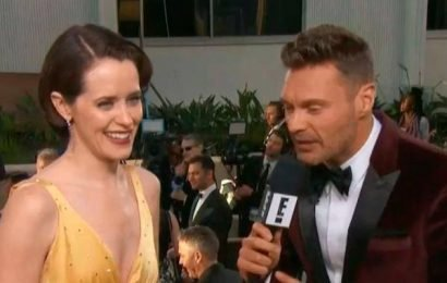 Claire Foy Reveals Back-Up Plan to Get Into Golden Globes Parties