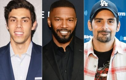Christian Yelich, Jamie Foxx, Brad Paisley and More Team Up for Celebrity Softball Benefit Game