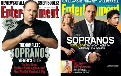 See all of EW's The Sopranos covers