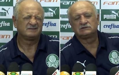 Ex-Chelsea boss Scolari cuts press conference short in agony with kidney stones