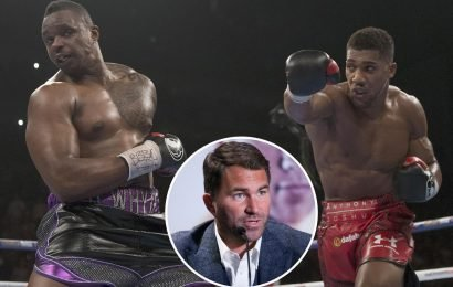 Desperate Hearn offers Whyte double-your-money £4m to fight Joshua at Wembley as 'Big Baby' Miller reveals no talks have taken place
