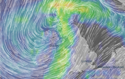 UK weather forecast – Britain to endure miserable day of 65mph gales and lashing rain while parts see 6in of fresh snow