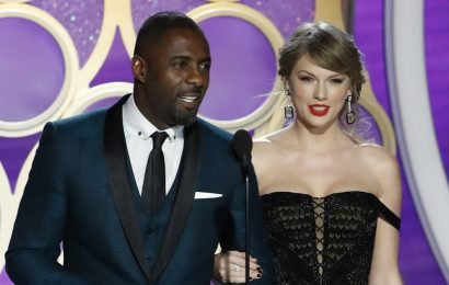 Taylor Swift Makes Surprise Appearance at Golden Globes 2019