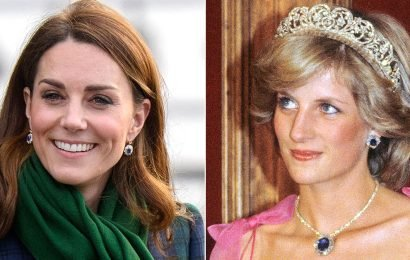 Kate Middleton Honors Princess Diana by Wearing Her Sapphire Earrings in Scotland: See the Photos