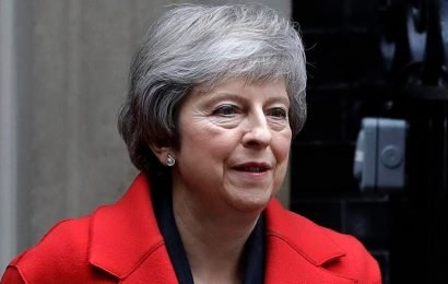 Brexit vote will 'definitely' happen, UK's May says, as new poll shows most Britons would now vote to remain